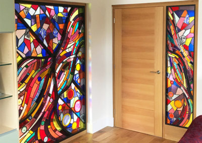 'Random Flow' Stained Glass Features